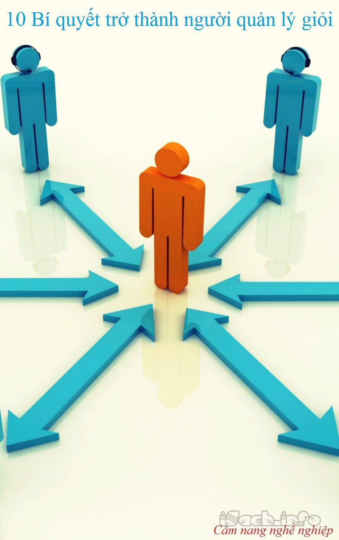 10 bí quyết trở thành người quản lý giỏi
