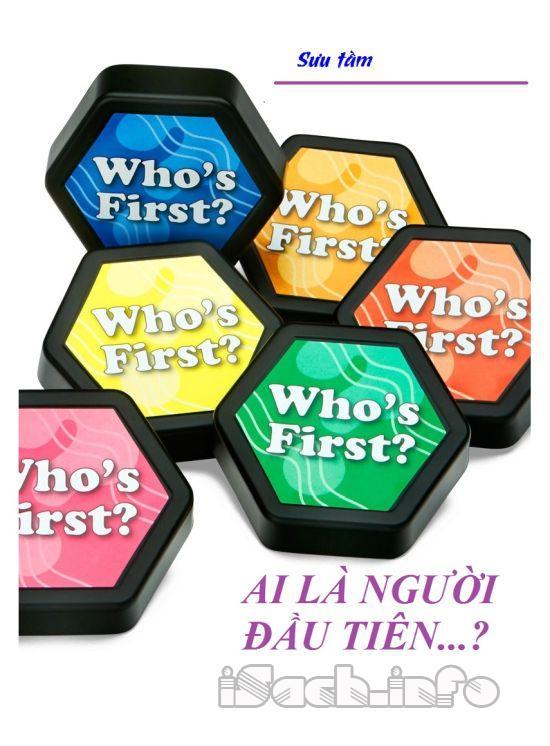 Ai là người đầu tiên ...