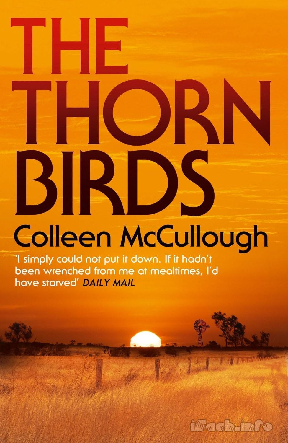Book Cover Design Of Birds : The thorn birds colleen mccullough