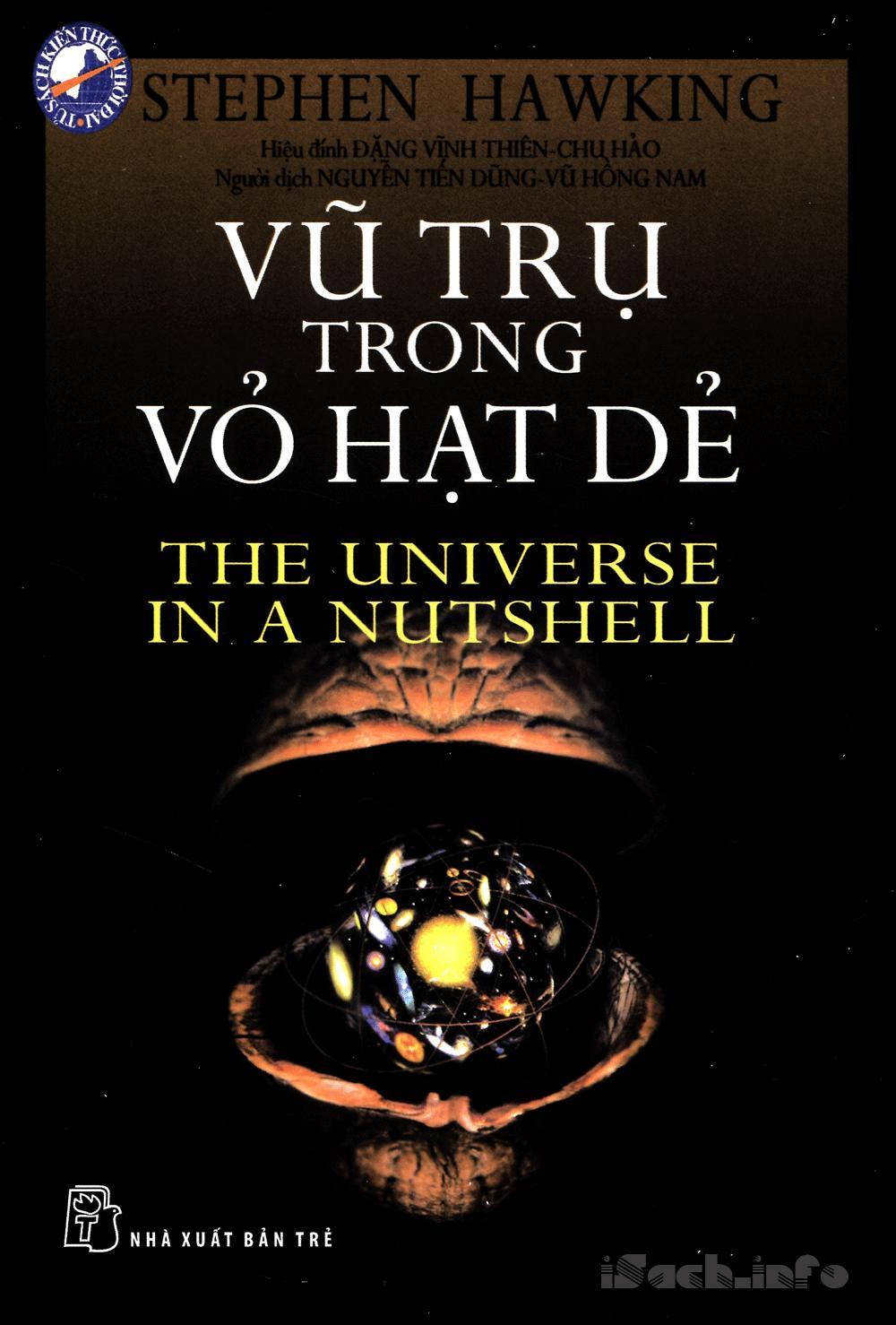 Kết quả hình ảnh cho vũ trụ trong vỏ hạt dẻ